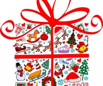 Vector Lovely Element Christmas Vector Graphics