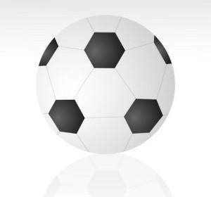 Vector Soccer Ball Vector Art
