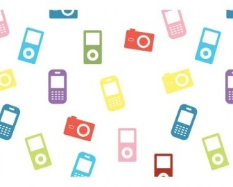 Vector Electronic Devices Icons Icon Vector Graphics