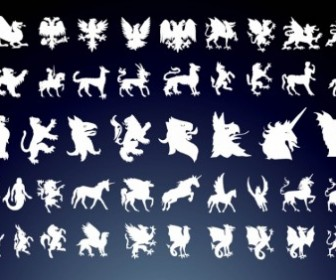 Vector Mythical Creatures Vector Art