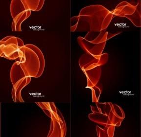 Vector Dynamic Fire Lines Vector Art