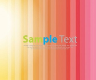 Vector Bright Stripe Background Vector Art