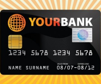 Vector Credit Card Vector Art