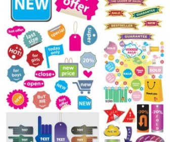 Vector A Variety Of Shopping Sites Decorative Graphics Vector Art