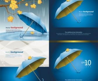 Vector Umbrella Vector Art