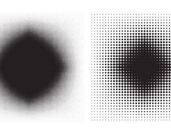 Vector 6 Halftone Patterns Pattern Vector Art