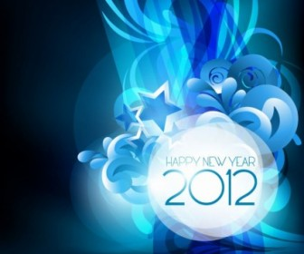 Vector New Year Design 2012 Vector Art