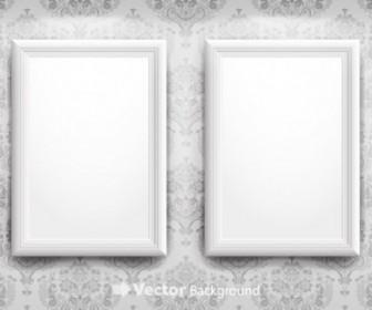 Vector Blank Frame 4 Vector Art