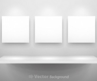 Vector Gallery Display 11 Background Vector Art
