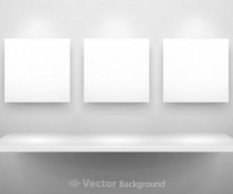 Vector Gallery Display 11 Background Vector Art