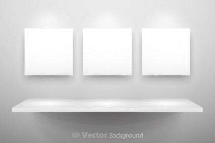 Vector Gallery Display 11 Background Vector Art Ai Svg