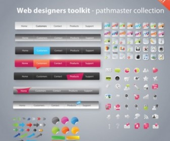 Vector Useful Tools Pack 02 Web Design Vector Graphics