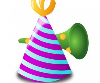 Vector Birthday Icon Vector Clip Art