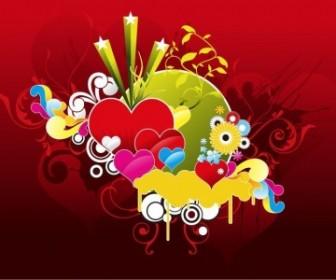 Vector Graphic Heart Vector Art