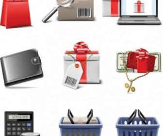 Vector Shopping Series Icon Vector Graphics