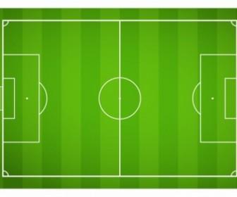 Vector Soccer Field Sport Vector Graphics
