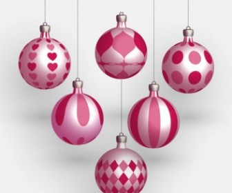 Vector Balls Christmas Vector Graphics
