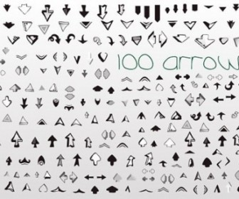 Vector Set Of Useful Arrows Great Collection Vector Art