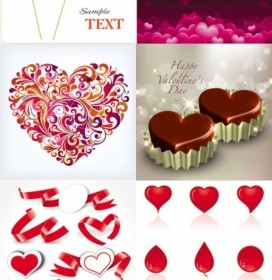 Vector Romantic Heartshaped Heart Vector Art