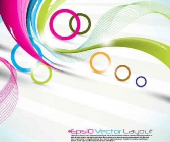 Vector Dynamic Abstract Color Backgrounds Background Vector Art