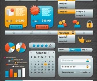 Vector Practical Elements 04 Web Design Vector Graphics