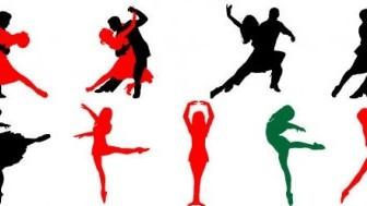 Vector Dancing Vector Art
