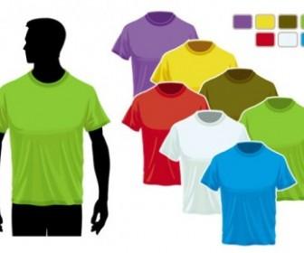 Vector Tshirt Template 02 Vector Art