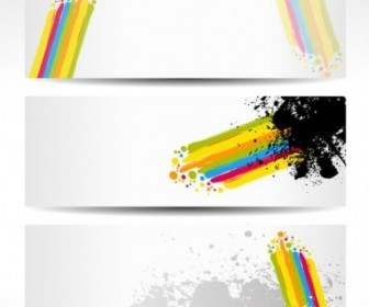 Vector Color Note 05 Background Vector Art