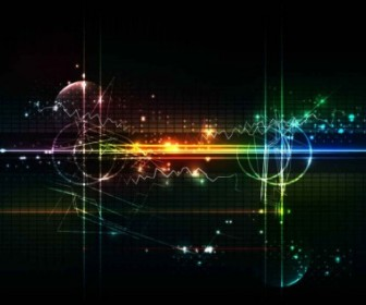 Vector Abstract Futuristic Background Vector Art