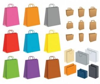Vector Paper Bag Vector Art