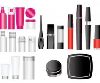 Vector Empty Cosmetic Packaging Vector Art