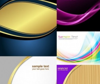 Vector Several Dynamic Lines Of The Background Vector Art