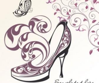 Vector Exquisite Handpainted Pattern 05 Background Vector Art