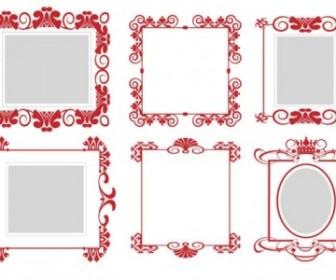 Vector Frame 01 Pattern Vector Art