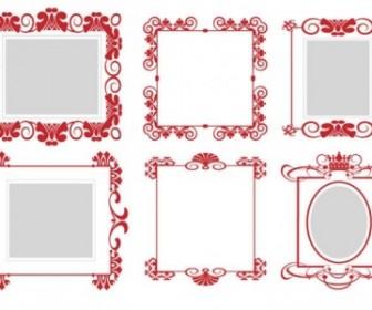 Vector Frame 01 Pattern Vector Art