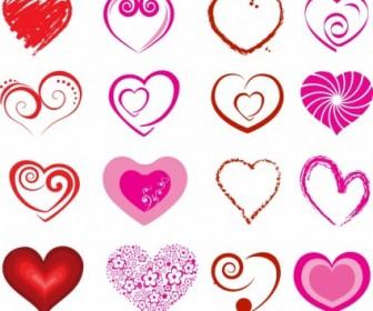 Vector Hearts Heart Vector Art