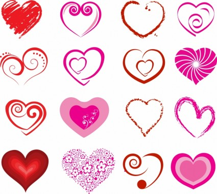 Vector Hearts Heart Vector Art - Ai, Svg, Eps Vector Free Download