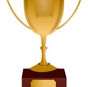 Vector Trophy Vector Clip Art