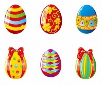 Vector Colorful Easter Eggs Illustration Vector Art