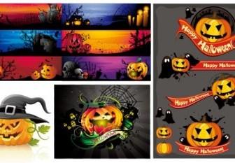 Vector Halloween Images Cartoon Vector Art