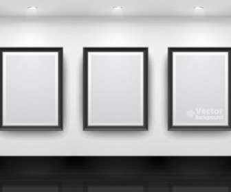 Vector Gallery Display 15 Background Vector Art