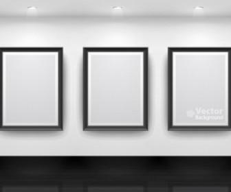 Vector Gallery Display 15 Background Vector Art
