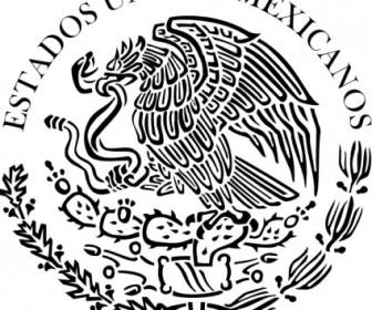 Vector Seal The Government Of Mexico Linear Vector Clip Art