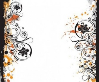 Vector Fashion Design Flower Pattern Vector Art