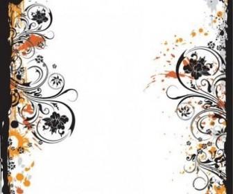 Vector Fashion Design Flower Pattern Vector Art