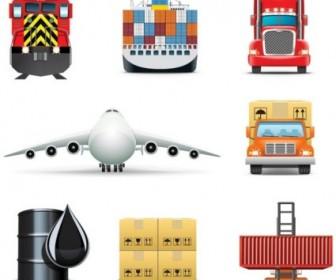 Vector Delicate Cargo 01 Icon Vector Graphics