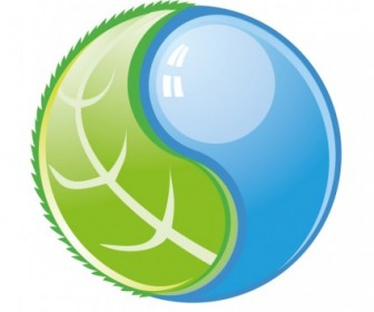 Vector Earth And Water Icon Vector Graphics