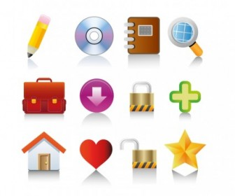 Vector For Web And Internet Icons Set Icon Vector Graphics