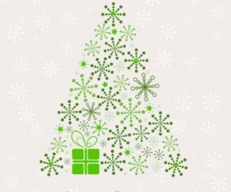 Vector Christmas Tree Abstract Vector Graphics
