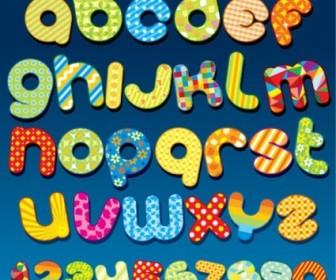 Vector Font Design Series 55 Vector Art